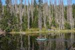 Šumavské jezero - vzorkování Sampling