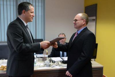 Petr Porcal was appointed as associate professor