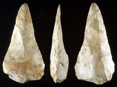 Neanderthal and early modern human stone tool culture co-existed for over 100,000 years